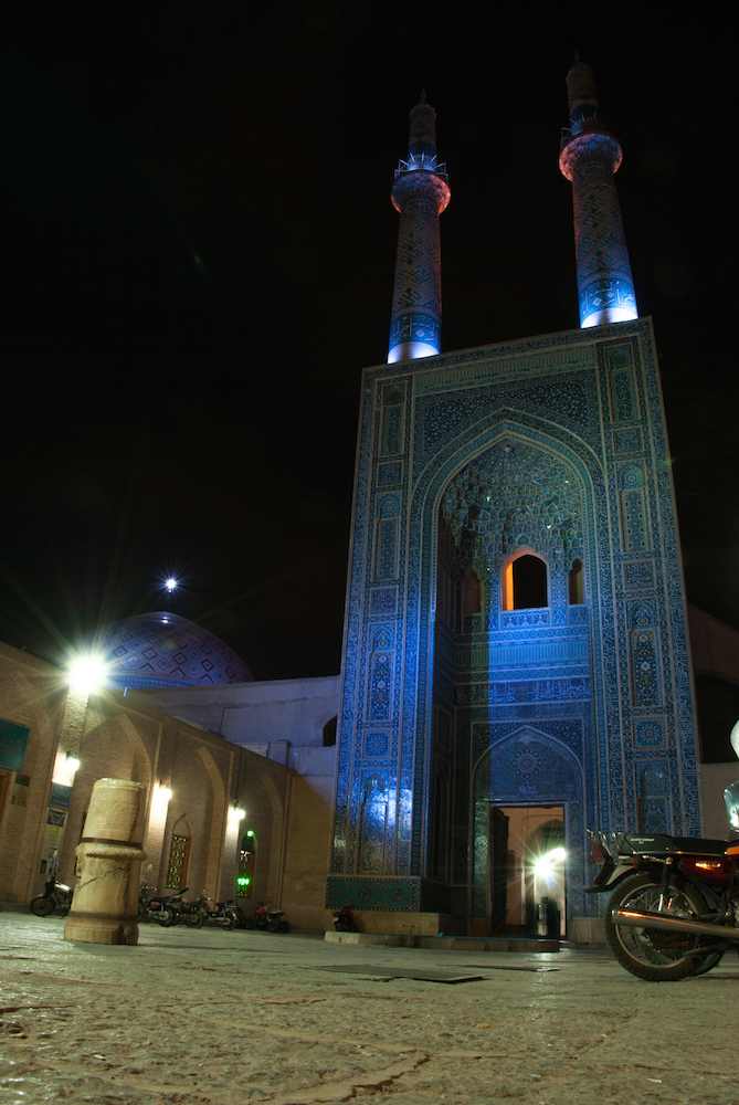 La moschea di Yazd